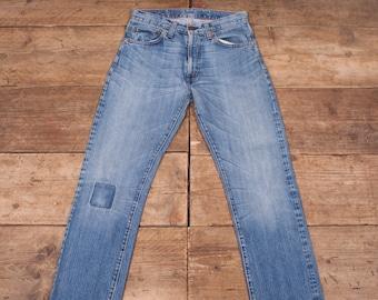 a9360c2cefb Mens Vintage Levis Red Tab 501 Big E LVC Blue Selvedge Jeans 32