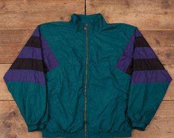 Vintage NIKE Aqua Gear Neon Fleece Jacket Hot Pink Zip Size