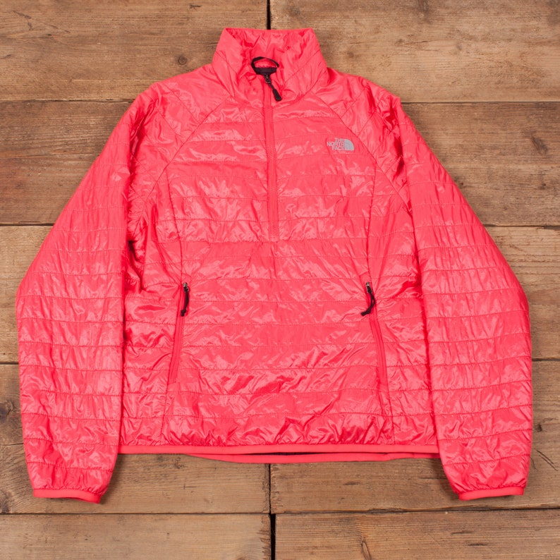Womens North Face Pink Flashdry Outdoor Down Jacket Large 14 image 0