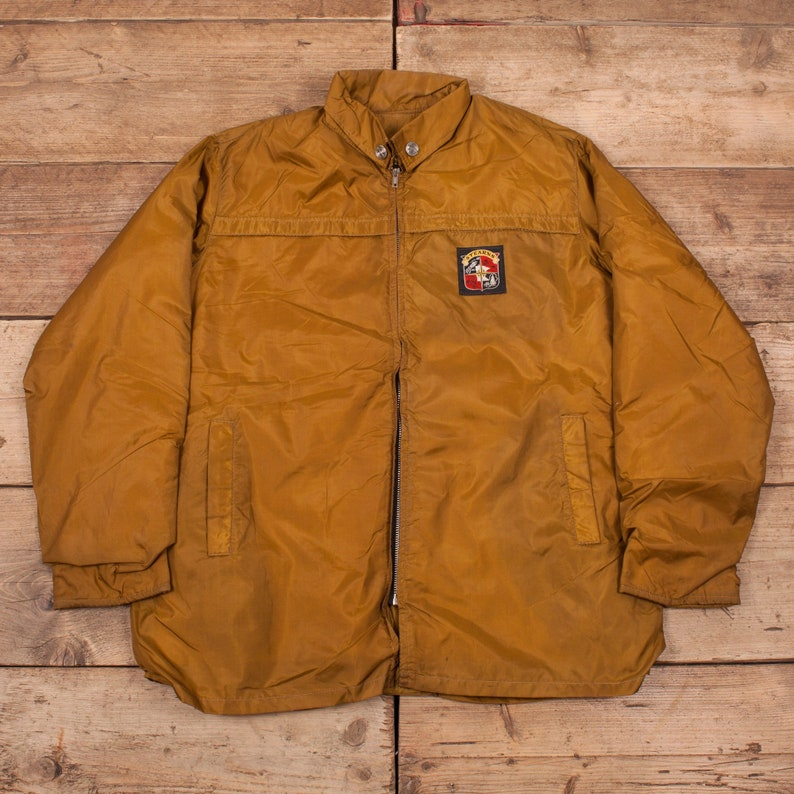 c1cc3208e42e Mens Vintage Stearns Gold Windjammer Flotation Jacket Talon