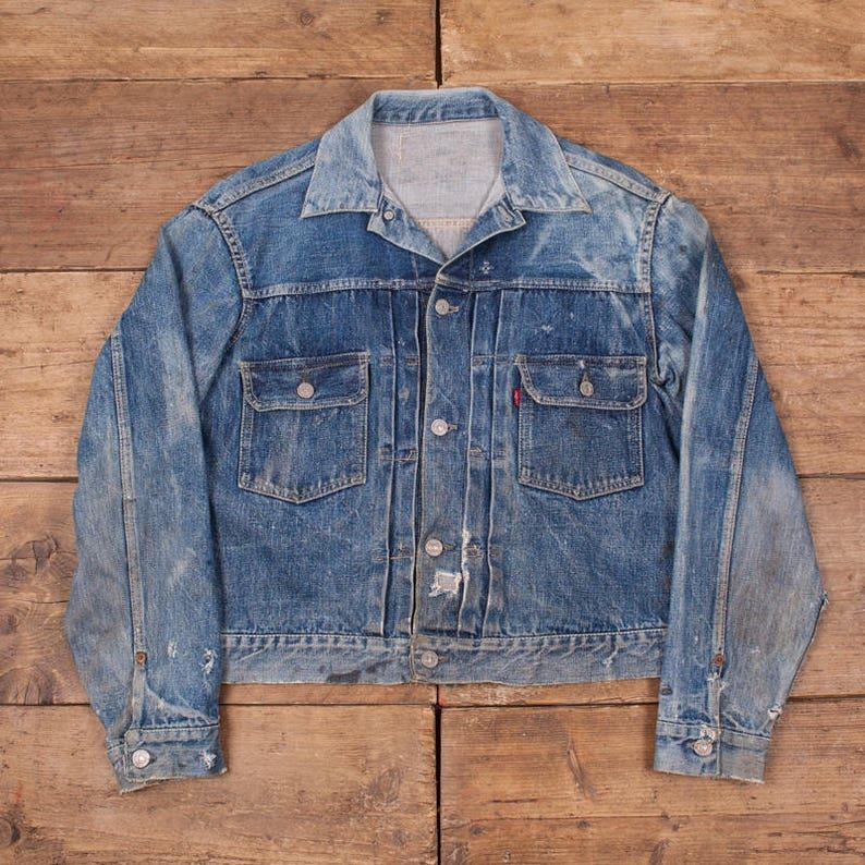 e7b86669 Levis True Vintage 'Type 2' Big E 507XX Denim Jacket. | Etsy