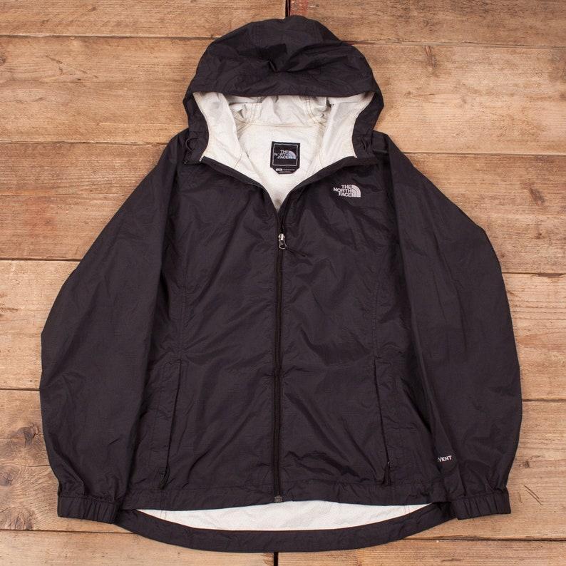 Womens Vintage North Face Black HyVent Raincoat Outdoor Jacket image 0