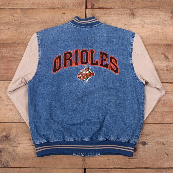 Mens Vintage Lee Blue Baltimore Orioles Denim Vars