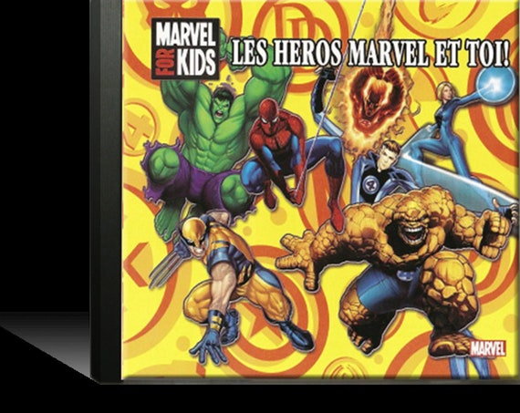 "music and custom songs child baby ""Marvel Heroes"" CD"