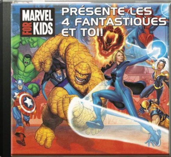 "custom music album ""The Fantastic Four"": original gift child"