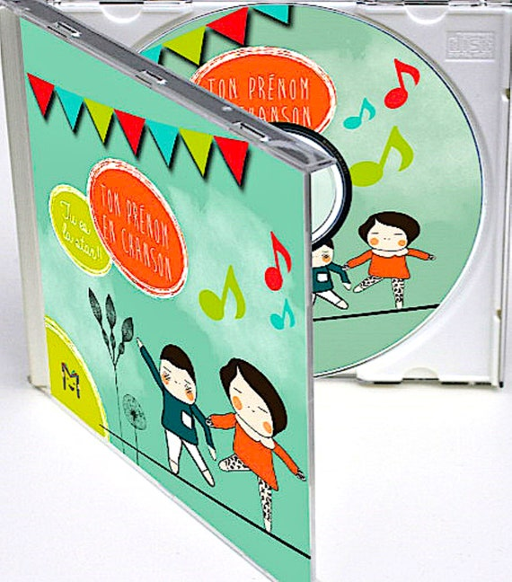 "Custom baby child songs ""My music for me"" CD first name"