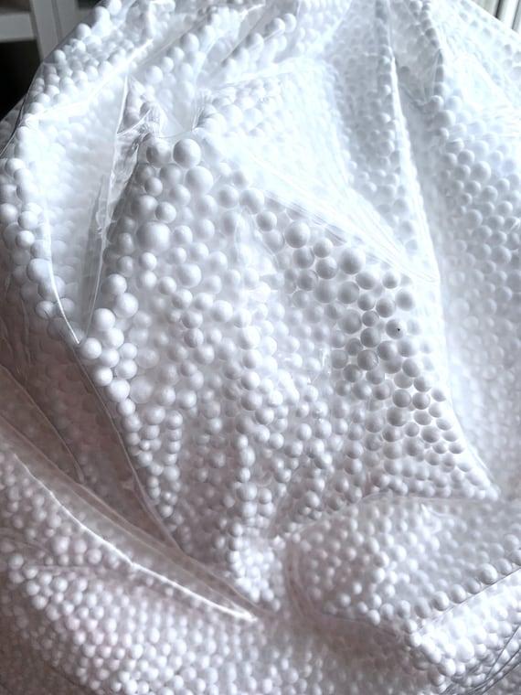 Granules - Polystyrene padding balls - 300 G - white foam beads