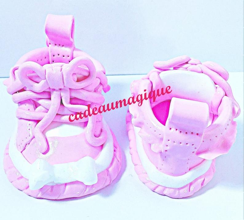 deco baby shower converse chaussure jumeaux annonce grossesse Lot de 2 paires