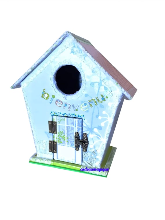 doll house - cardboard nest box: decoration bedroom child