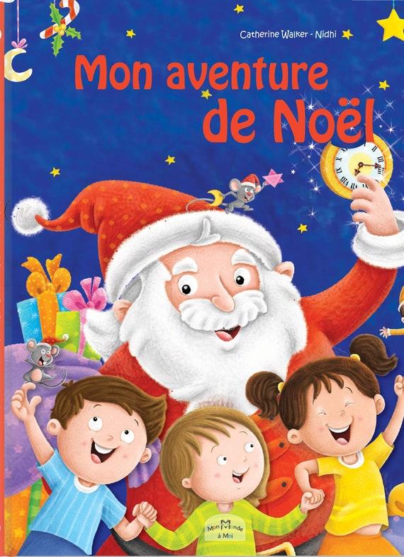 """livre personnalisé  """"Mon aventure de Noël"""" : cadeau original bébé enfant"""