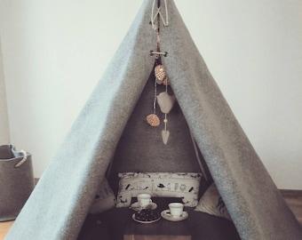 Teepee. Kids teepee. Tent for kids.