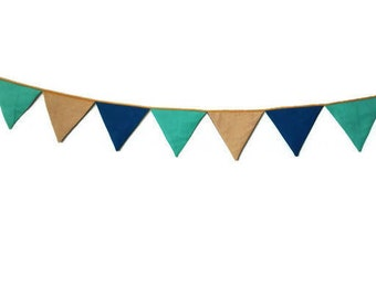 colorful bunting- flag, garland for Teepee, tent flag, camp flag, banner, kids teepee bunting