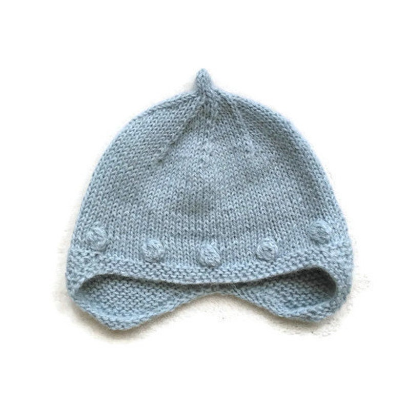 989879d860c8 Cunky knit hat. Hand knit baby hat. Toddler winter hat.