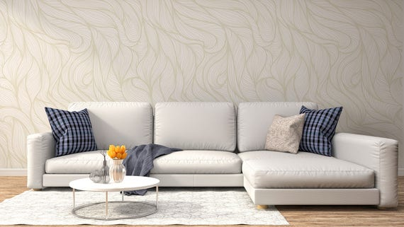 Braided Adhesive Wallpaper Removable Wall