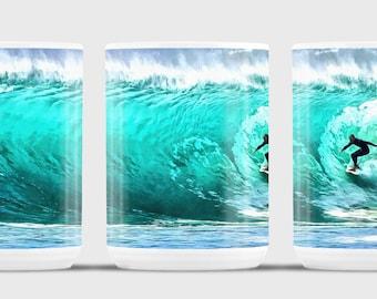Big Wave, Riding the Big Wave, Through the Gauntlet