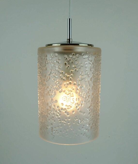 """Peill /& Putzler Deckenlampe Koch  /& Lowy 70er Jahre Klarglas 26,0 cm /""""Wave/"""""""