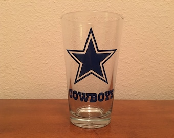 NFL or College pint glass