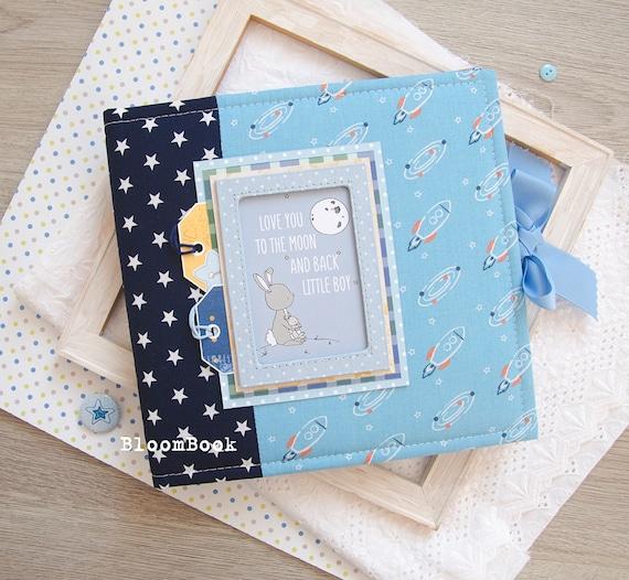 Personalised Christening Baby Childs Birthday Guest Book Scrapbook Album