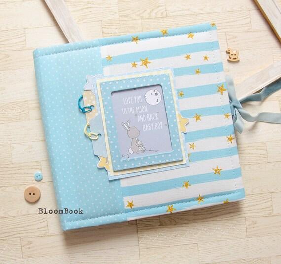 Mignon brodé personnalisé Baby Boy design couverture naissance baptême cadeau