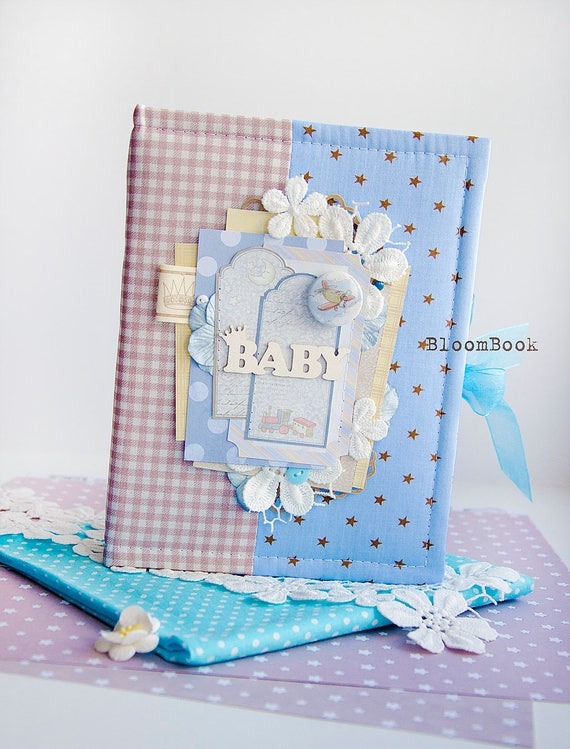 Baby Boy Photo Album Personalized Baby S First Year Photo Etsy
