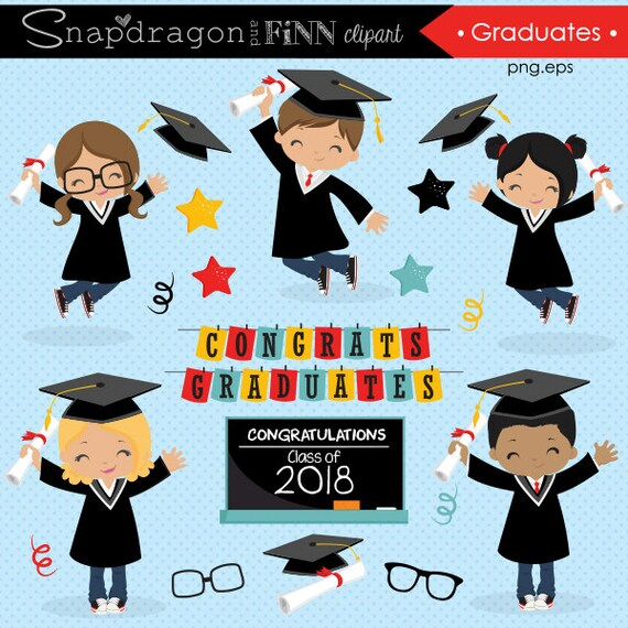 Graduation Clipart Grad End Of School