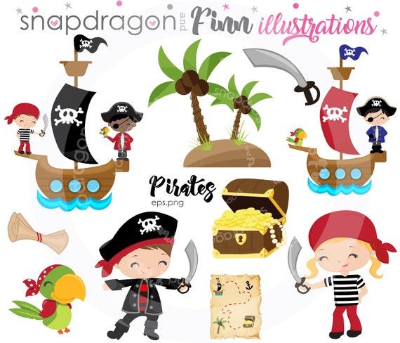 Buy5get5 Pirate Clipart Pirate Ship Clipart Pirate Boy Pirate Girl Papagei Treasure Treasure Map Pirate Party Kids Pirate Grafik