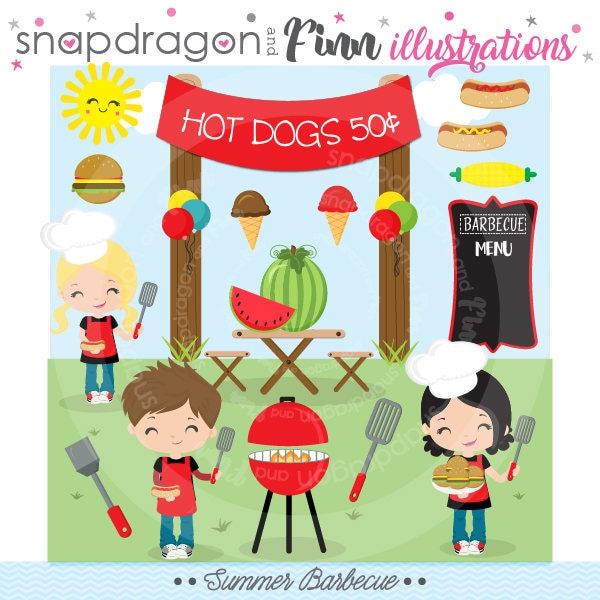 bbq clipart barbecue clipart summer picnic clipart summer
