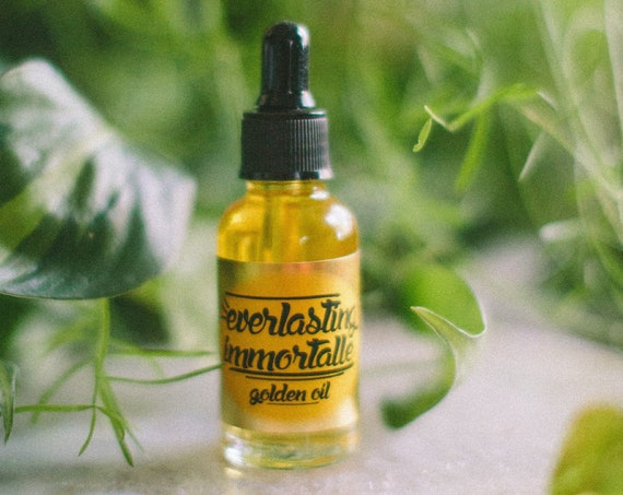 Golden Oil Everlasting Immortelle