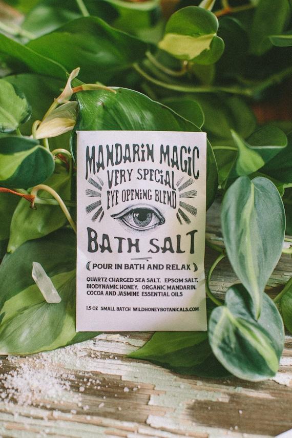 Mandarin Magic Bath Salt Soak