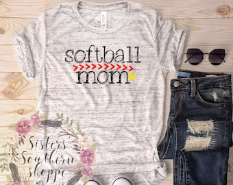 Softball Mom Shirt, Custom Softball Mom Shirt, Softball Mama Shirt, Softball Mom TShirt, Softball Mom Shirts, Softball tshirt, Softball mom