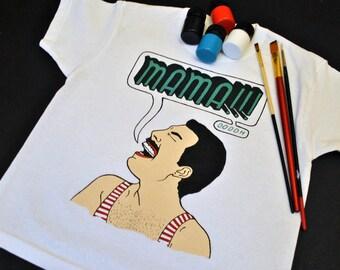 d234b155a Freddie -Queen t-shirt - Freddie Mercury funny t-shirt -queen freddie  mercury - freddy mercury t shirt - freddie t shirt - queen shirt
