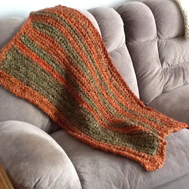 Oh So Soft Crochet Prayer Shawl Throw Homespun Thick N Etsy