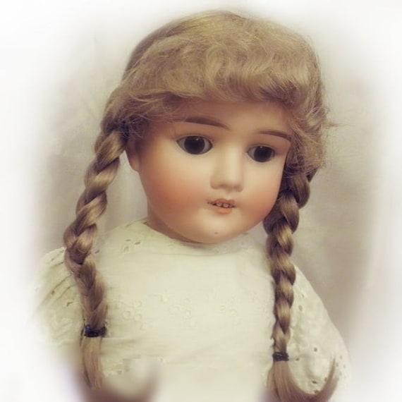 1.5 Vintage Angora Mohair For Antique Dolls Oz