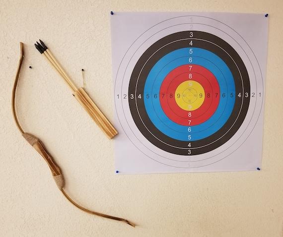 En bois arc avec flèches et porte-enfants tir à l/'arc pour la chasse jouet jeu