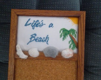 Life's A Beach   Memo Board