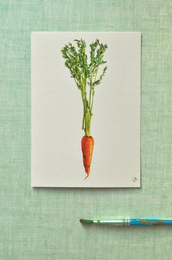 Carrot Card-carte Carotte-carte