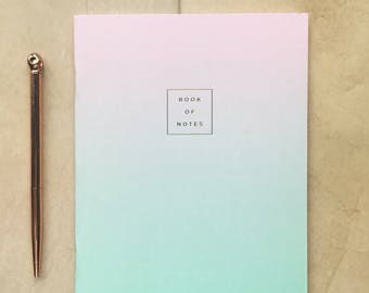 A5 lilac fade out notebook
