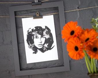 Jim Morrison the Doors print