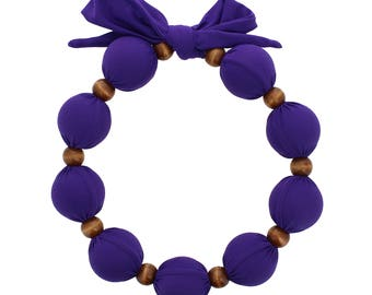 Beat Hot Flashes in Style! Nano-Ice Cooling Necklace - Light Purple (has 1 extra Cooling Sphere than the standard neckalce!!)