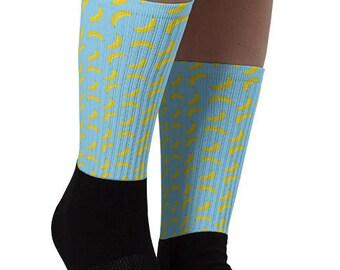 Banana Print Socks