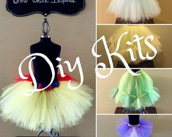 Costume tutus for girls of all ages by thegoldtutushop on etsy diy princess tutu kit skirts for children adults super easy do it yourself costume kits snow white belle ariel rapunzel cinderella solutioingenieria Images