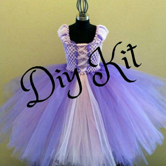 Diy rapunzel tutu kit child sizes easy do it yourself costume diy rapunzel tutu kit child sizes easy do it yourself costume tutu kit rapunzel from tangled ballgown from thegoldtutushop on etsy studio solutioingenieria Images