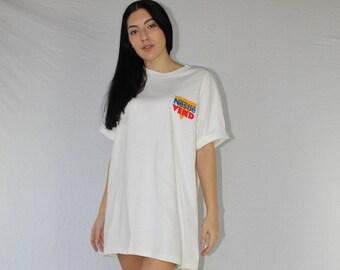 Vintage Nestle T-Shirt Size XL   Oversized T-Shirt   90s T-Shirt