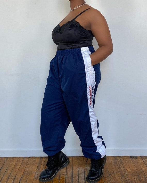 Vintage 80s Nautica Track Pants (XL) - Nautica Blu