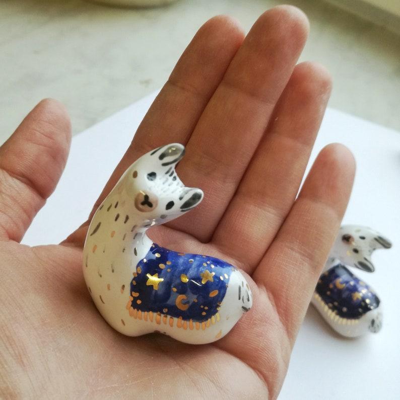 Llama Gift Idea Alpaca Lama Jewelry Storage Idea Llama Gifts Llama Ring Holder Ceramic Llama Figurine