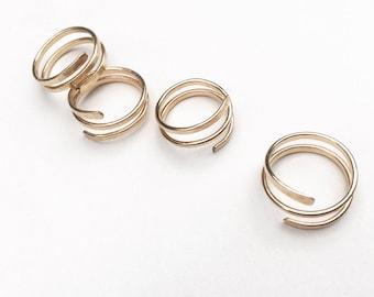 BRACELETS + RINGS