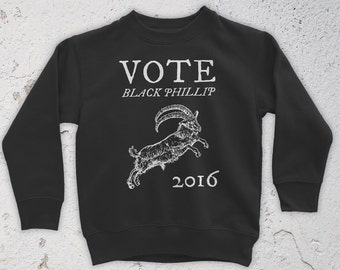 Vote Black Phillip 2016 Sweatshirt