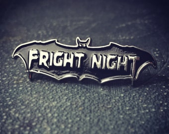 Fright Night Enamel Pin