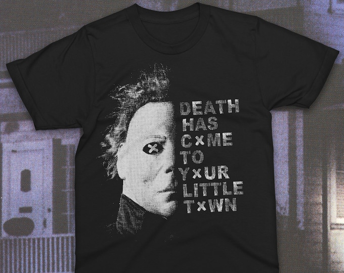 Featured listing image: Death Has Come Boogeyman T-Shirt Halloween