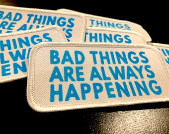 Bad Things Twill Patch